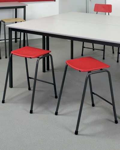 Remploy Mx08 Stacking Lab Stool